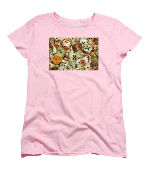 Roll The Dice Women's T-Shirt (Standard Cut)