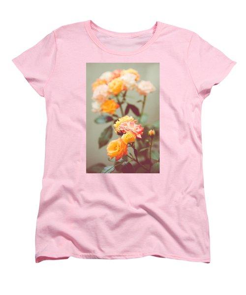 Women's T-Shirt (Standard Cut) featuring the photograph Rumba Rose by Ari Salmela