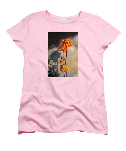 Women's T-Shirt (Standard Cut) featuring the photograph Sad To See You Go by John Stuart Webbstock