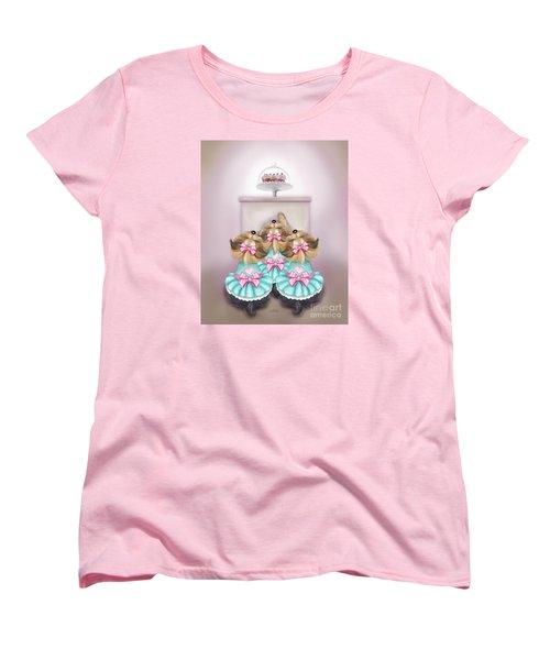 Saint Cupcakes Women's T-Shirt (Standard Cut) by Catia Cho