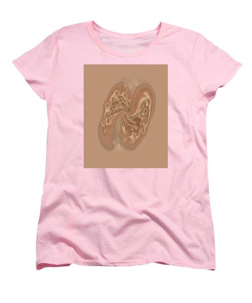 Satin Butterfly Women's T-Shirt (Standard Cut) by Judi Suni Hall
