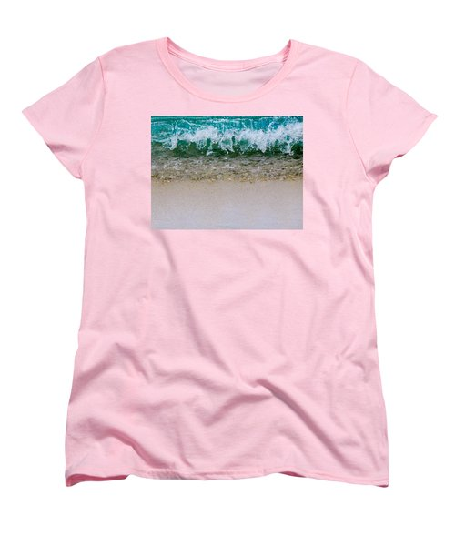 Sea Shore Colors Women's T-Shirt (Standard Cut) by Debra Martz