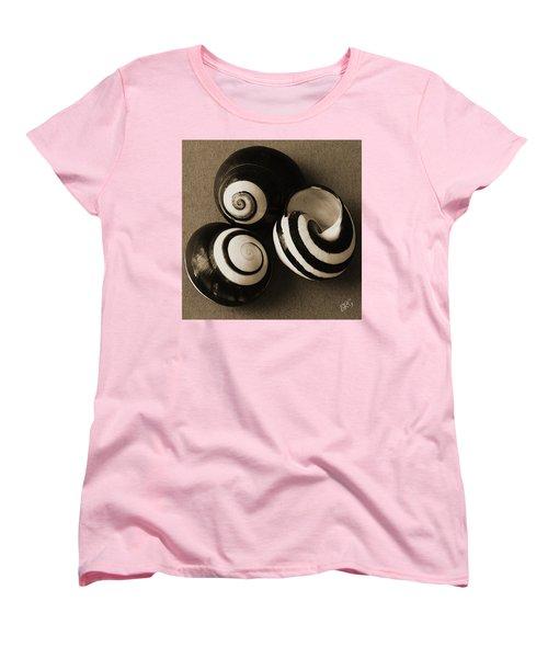 Seashells Spectacular No 27 Women's T-Shirt (Standard Cut) by Ben and Raisa Gertsberg