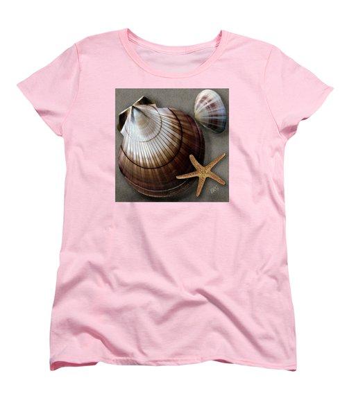 Seashells Spectacular No 38 Women's T-Shirt (Standard Cut) by Ben and Raisa Gertsberg