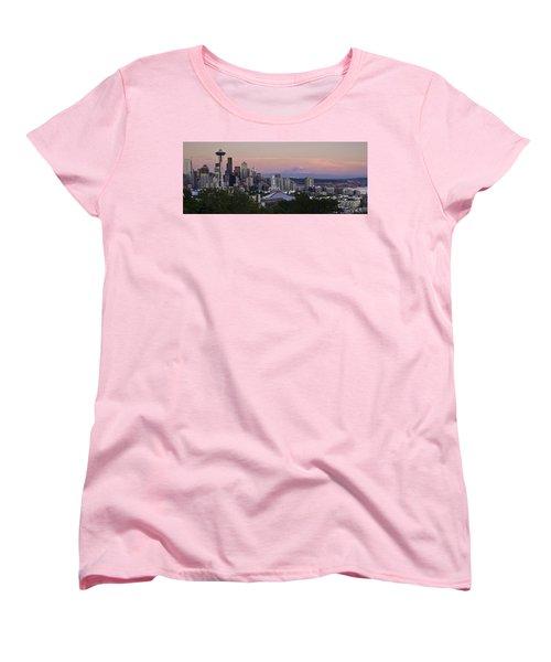 Seattle Sunset - Kerry Park Women's T-Shirt (Standard Cut)