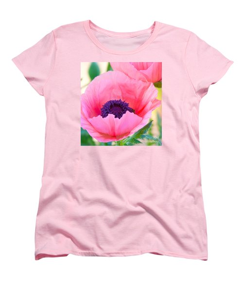 Seductive Poppy Women's T-Shirt (Standard Cut) by Roselynne Broussard