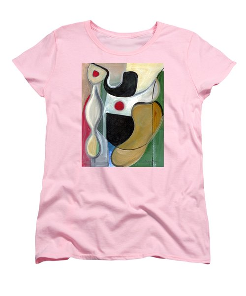 Women's T-Shirt (Standard Cut) featuring the painting Sensuous Beauty by Stephen Lucas