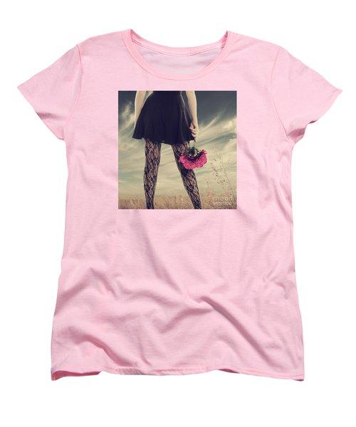 She's Got Legs Women's T-Shirt (Standard Cut) by Linda Lees