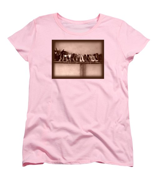 Shoes Women's T-Shirt (Standard Cut) by Fran Riley