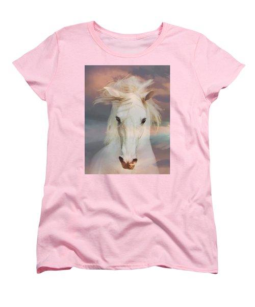 Silver Boy Women's T-Shirt (Standard Cut) by Melinda Hughes-Berland