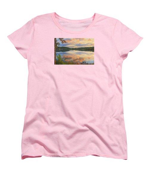 Women's T-Shirt (Standard Cut) featuring the photograph Soddy Lake by Geraldine DeBoer
