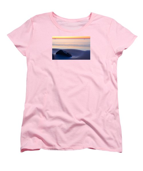 Solitude Singing Beach Women's T-Shirt (Standard Cut) by Michael Hubley