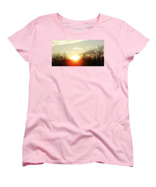 Son Above The Sun Women's T-Shirt (Standard Cut) by Nick Kirby
