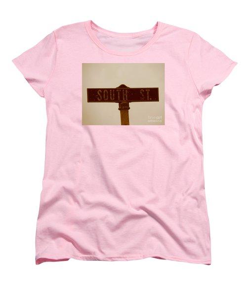 South Street Women's T-Shirt (Standard Cut) by Michael Krek