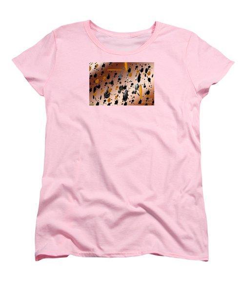 Women's T-Shirt (Standard Cut) featuring the photograph Splatters by Tina M Wenger
