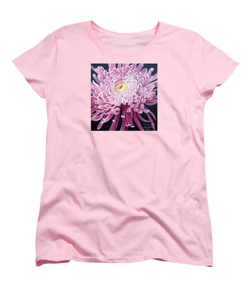 Women's T-Shirt (Standard Cut) featuring the painting Spider Mum by Debbie Hart