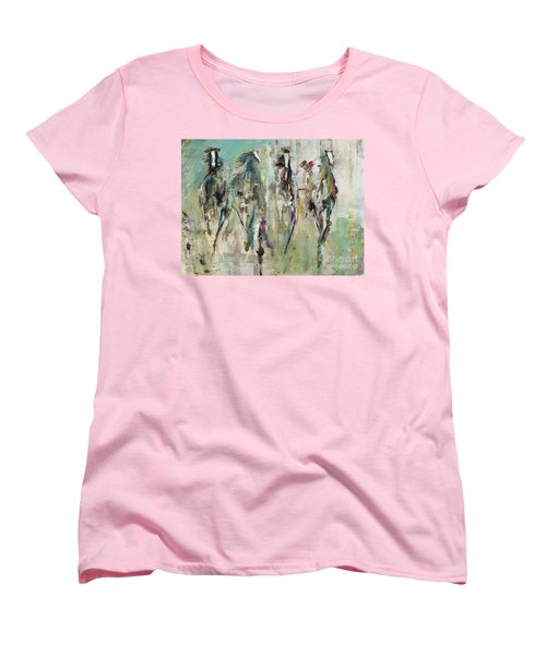 Spooked Women's T-Shirt (Standard Cut) by Frances Marino