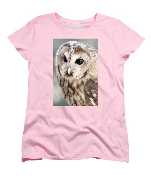 Women's T-Shirt (Standard Cut) featuring the photograph Spotted Owl by Shoal Hollingsworth