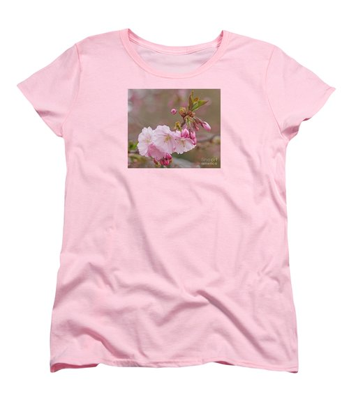Women's T-Shirt (Standard Cut) featuring the photograph Spring Blossoms by Rudi Prott