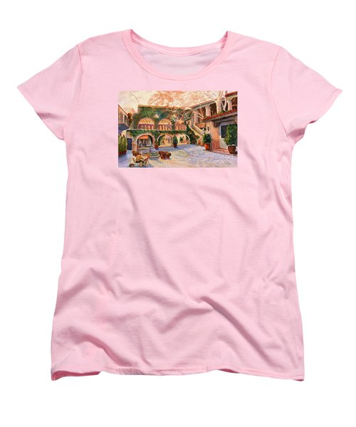 Spring In Tlaquepaque Women's T-Shirt (Standard Cut) by Marilyn Smith