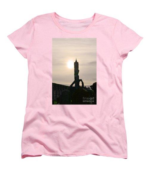 St Andrews Scotland At Dusk Women's T-Shirt (Standard Cut) by DejaVu Designs
