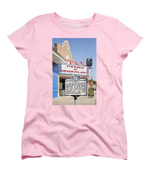 Stax Women's T-Shirt (Standard Cut) by Liz Leyden