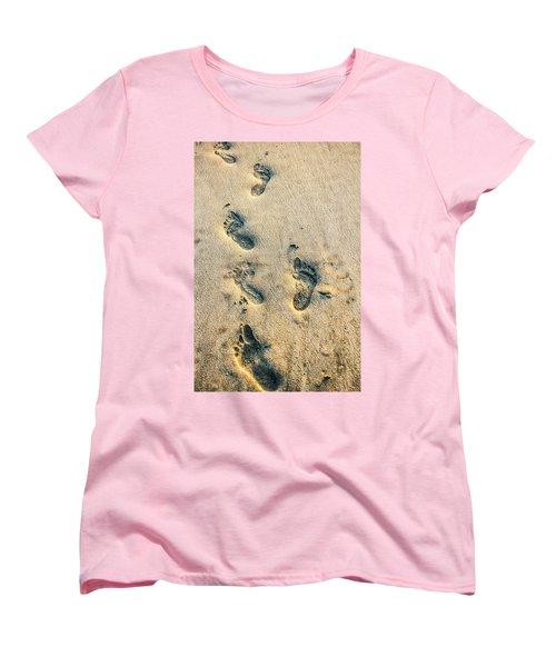 Steps Women's T-Shirt (Standard Cut) by Menachem Ganon