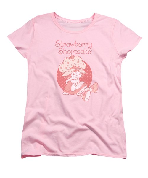 Strawberry Shortcake - Sitting Down Women's T-Shirt (Standard Cut) by Brand A