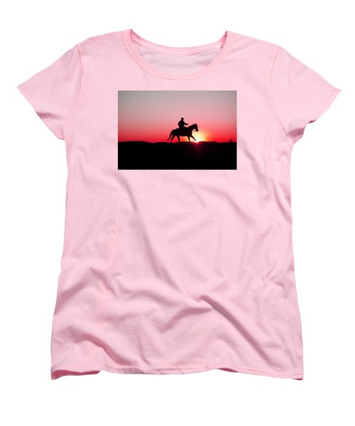 Sun Dancer Women's T-Shirt (Standard Cut) by Steven Bateson