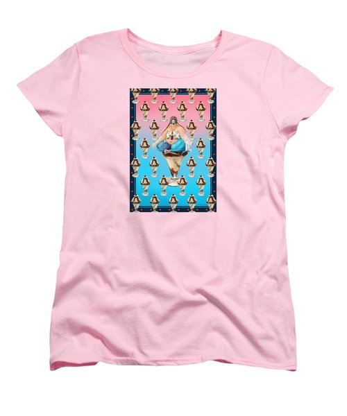 Sundae Girl Women's T-Shirt (Standard Cut) by Scott Ross