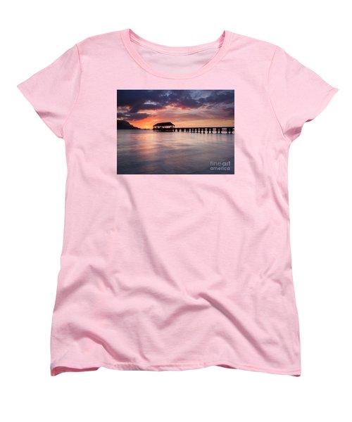 Sunset Pier Women's T-Shirt (Standard Cut)