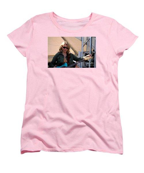 Susan Tedeschi Women's T-Shirt (Standard Cut) by Angela Murray