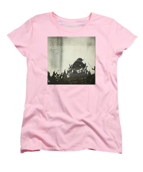 Women's T-Shirt (Standard Cut) featuring the photograph Sweet Disposition by Trish Mistric