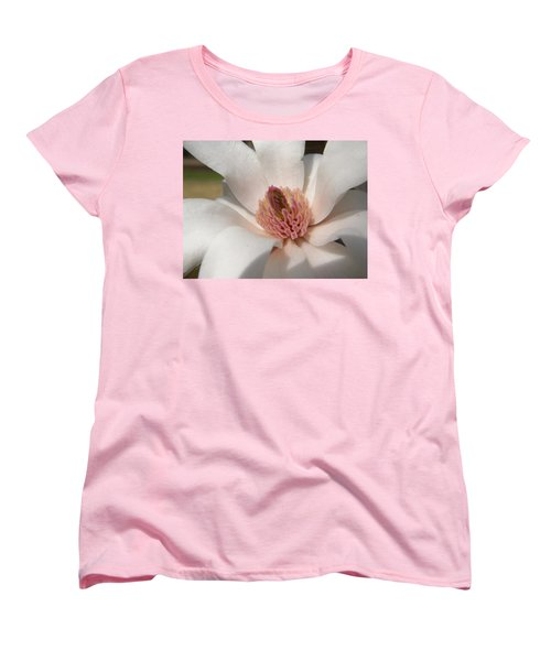 Women's T-Shirt (Standard Cut) featuring the photograph Sweet Star Magnolia by Caryl J Bohn