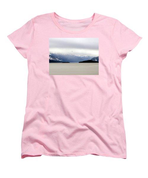 Women's T-Shirt (Standard Cut) featuring the photograph Take Flight by Jennifer Wheatley Wolf