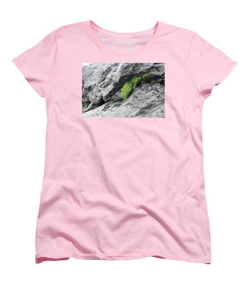 Women's T-Shirt (Standard Cut) featuring the photograph Tar  by Minnie Lippiatt