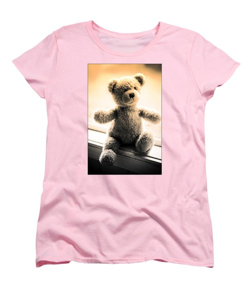 Women's T-Shirt (Standard Cut) featuring the photograph Teddy B by Aaron Berg