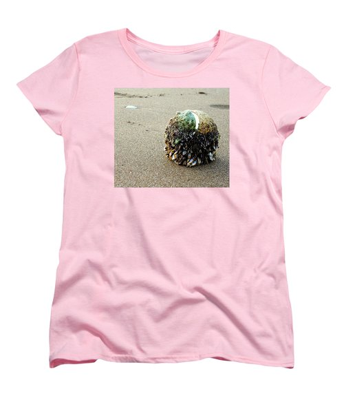 Women's T-Shirt (Standard Cut) featuring the photograph Tennis Anyone? by Peter Mooyman