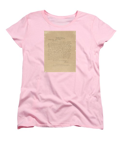 The Bixby Letter Women's T-Shirt (Standard Cut) by Celestial Images