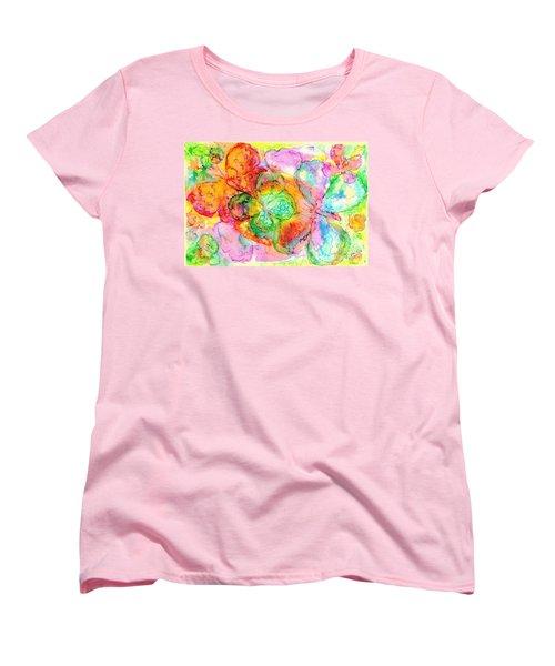 The Butterfly Dance Women's T-Shirt (Standard Cut) by Hazel Holland