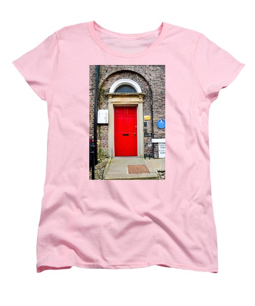 The Door To James Herriot's World Women's T-Shirt (Standard Cut) by Mary Carol Story
