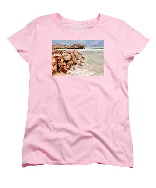 The Dragon Of Labadee Women's T-Shirt (Standard Cut) by Mitchell R Grosky