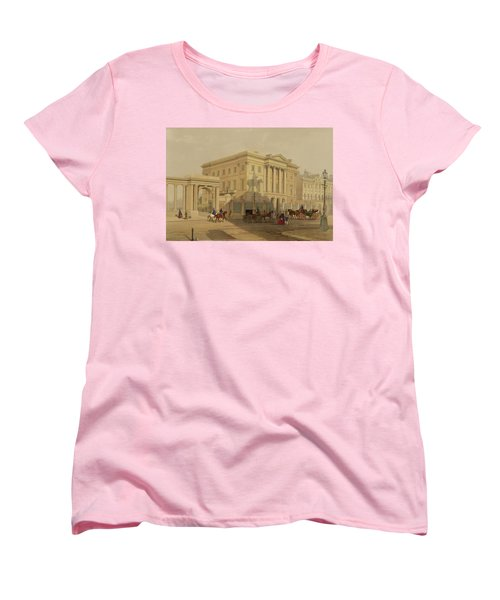 The Exterior Of Apsley House, 1853 Women's T-Shirt (Standard Cut) by English School