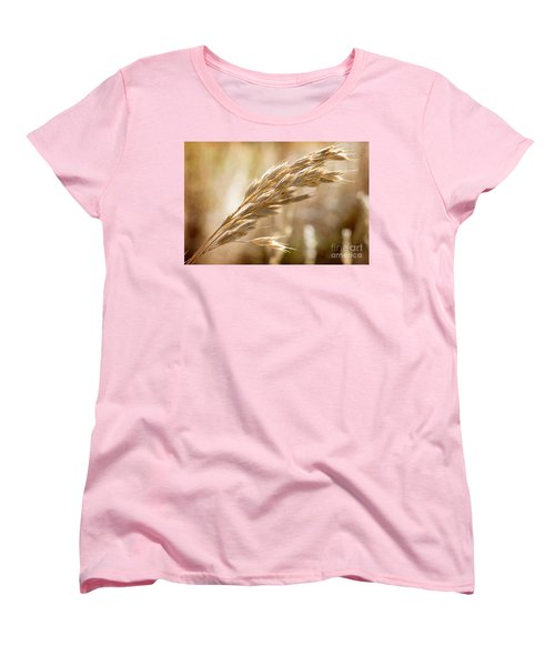Women's T-Shirt (Standard Cut) featuring the photograph The Hot Gold Hush Of Noon by Linda Lees