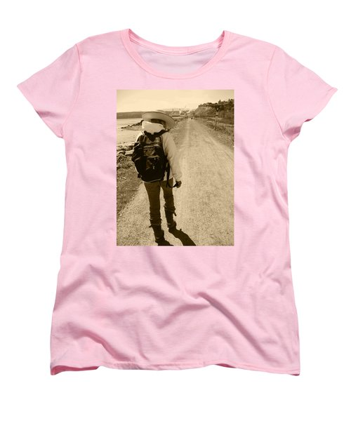 The Long And Winding Road Women's T-Shirt (Standard Cut) by Kym Backland