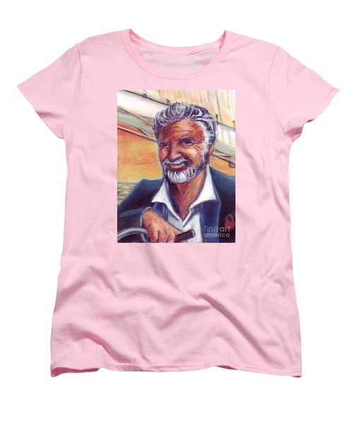 The Most Interesting Man In The World Women's T-Shirt (Standard Cut) by Samantha Geernaert