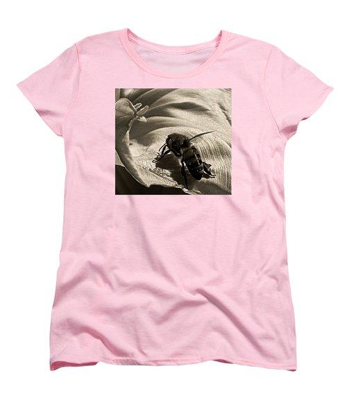 The Pollinator Women's T-Shirt (Standard Cut) by Chris Berry