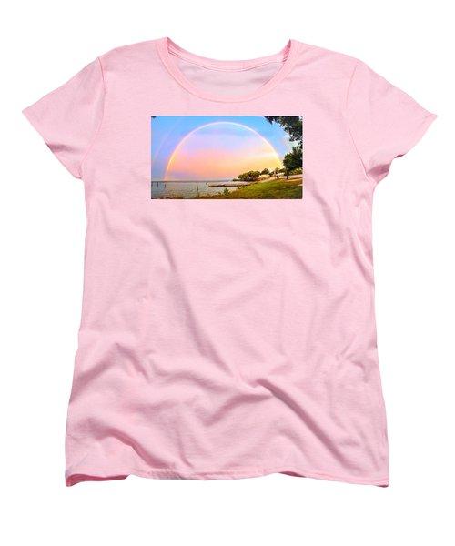 The Rainbow Women's T-Shirt (Standard Cut) by Carlos Avila
