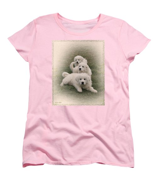 The Three Women's T-Shirt (Standard Cut) by Bonnie Willis