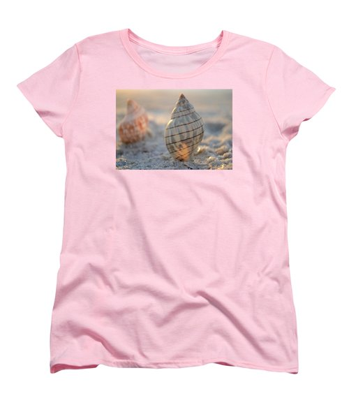 Women's T-Shirt (Standard Cut) featuring the photograph The Voice Of The Sea by Melanie Moraga
